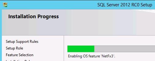 Setup installing .NET 3.51